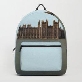 London, England Travel Artwork Backpack