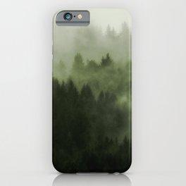 Drift - Green Mountain Forest iPhone Case