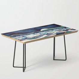 Moonlit Ocean Coffee Table