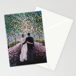 Path of love Stationery Cards