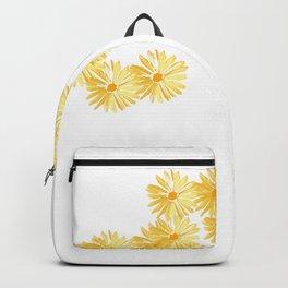 Flower minimal margarita daisy Backpack