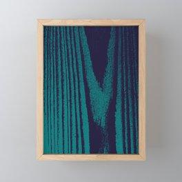 Rustic Woodgrain Framed Mini Art Print