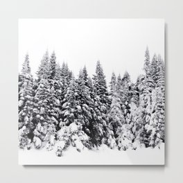 Snow Day Has Come Metal Print
