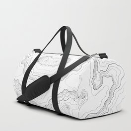 Topography map Duffle Bag