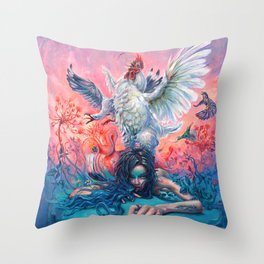 Symphony #4 AM Throw Pillow
