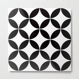Geometric Pattern 65 (circles) Metal Print