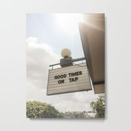 Good Times in Austin Metal Print
