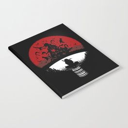 Uchiha Clan Silhouette Notebook