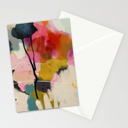 paysage abstract Stationery Cards