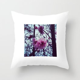 Spring into my Life. Throw Pillow
