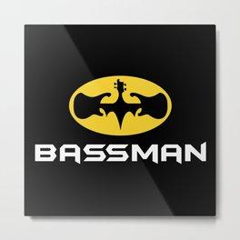 Bassman Metal Print