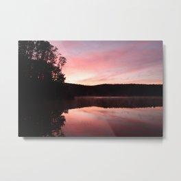 Sunrise at St Georges Lake, Creswick Metal Print