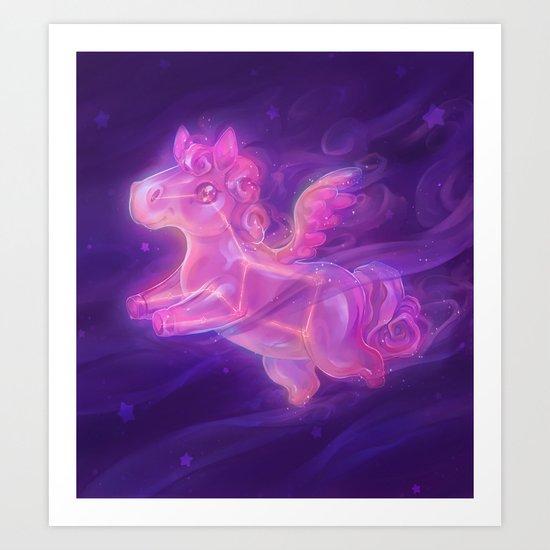 Sparkling Stars - Pegasus Constellation by penguinstein