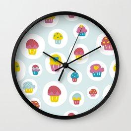 Light blue sweet love  Wall Clock