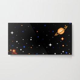 Deep Dark Space Metal Print