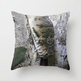Python Throw Pillow