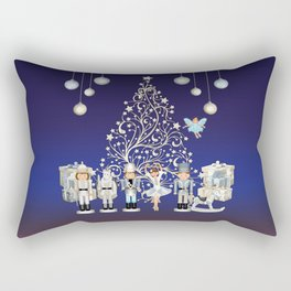 Christmas time - Nutcracker Story on Christmas eve Rectangular Pillow