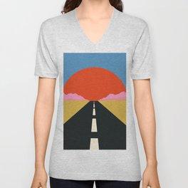 Road To Sun Unisex V-Neck