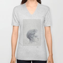 Portrait of the Birds Unisex V-Neck