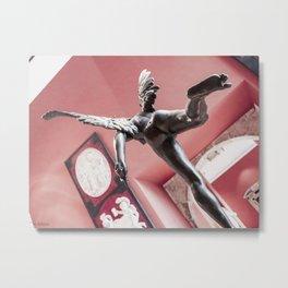 Paris Angel Metal Print