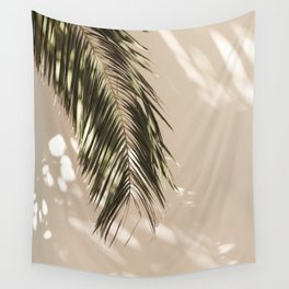 tropical palm leaves vi Wall Tapestry