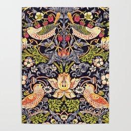 William Morris Strawberry Thief Art Nouveau Painting Poster