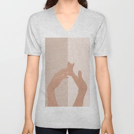 Come with Me Unisex V-Neck