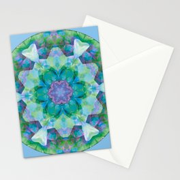 Mandalas of Healing and Awakening 10 Stationery Cards