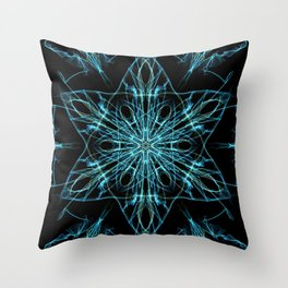 Alien Star Throw Pillow