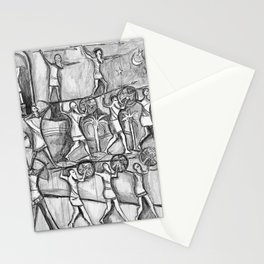 I Come in Peace Stationery Cards