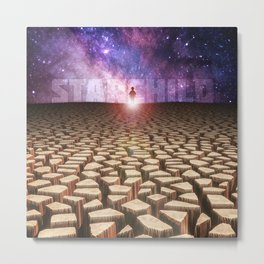 Child of Space Metal Print