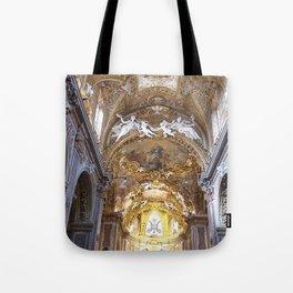 Santa Maria dell'Orto Church, Rome, Italy Tote Bag