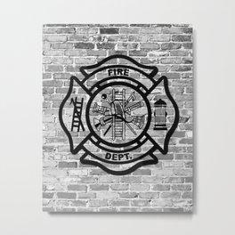Fire Dept Metal Print