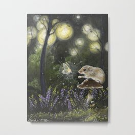 Trust and fairydust Metal Print