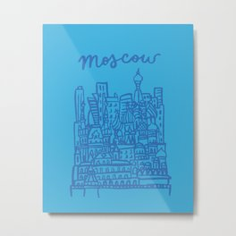 Moscow Russia Metal Print