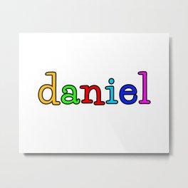 daniel Metal Print
