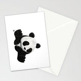 Lace Agate Panda Stationery Cards