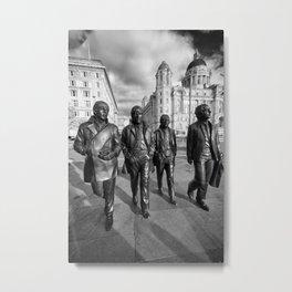 Fab Four Metal Print