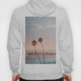 palm trees sunset vi / san clemente, california Hoody