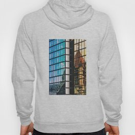 Reflections of Copley Square Buildings, Boston Hoody