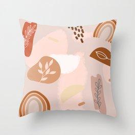 Modern Minimalist Abstract #11 Throw Pillow