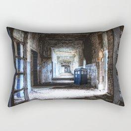 Tardis Art Stay Waiting Rectangular Pillow