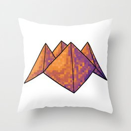 You have a secret admirer - Paper Fortune Teller Throw Pillow