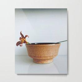 Bowl Metal Print