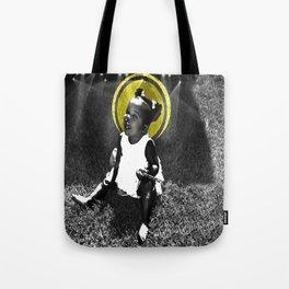 CareFreeBlackBaby Tote Bag