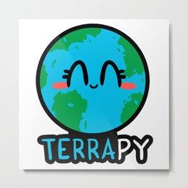 TERRApy Metal Print