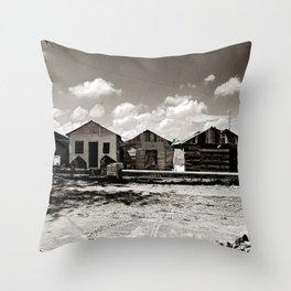 Casitas Throw Pillow