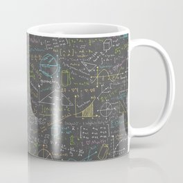 Math Lesson Coffee Mug