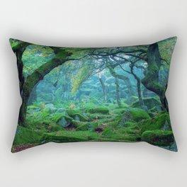 Enchanted forest mood Rectangular Pillow