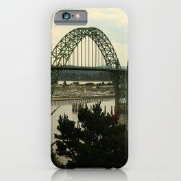 Yaquina Bay Bridge iPhone Case